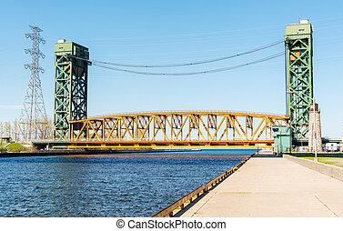 Burlington Canal Lift Bridge - The Burlington Canal Lift...