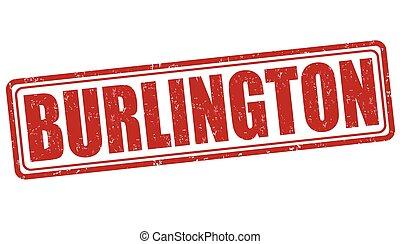 Burlington stamp