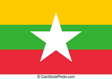 Burma Flag