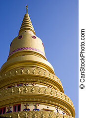 Burmese Buddhist Temple - Buddhist temple built in Burmese...
