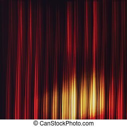 Burn flame fire abstract vector background