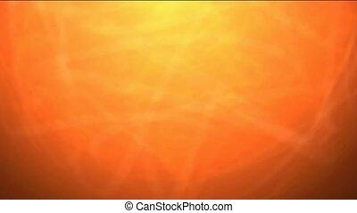 burn sun,golden nebula and laser