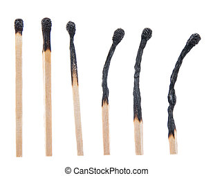 Burned Matchsticks