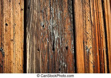 Burned Wood Background