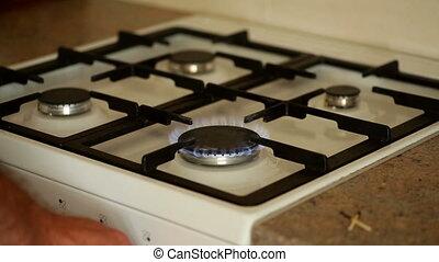 burners on the gas stove