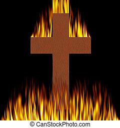 Burning Cross