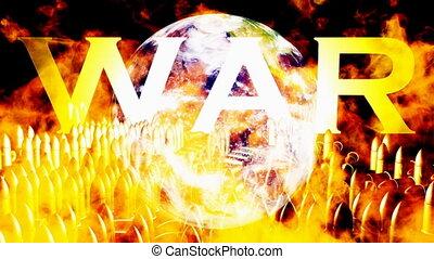 Burning Earth War Bullets Loop