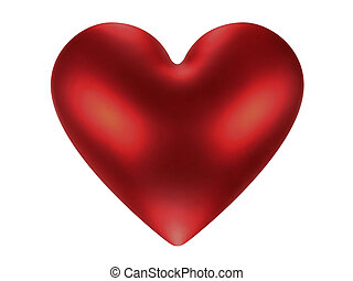 Burning heart (+ clipping path)