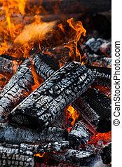 burning, logboek
