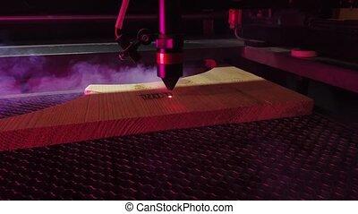 burning, machine, verwerking, laser, working., cnc ,...