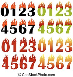 Burning Numbers Isolated