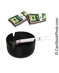 Burning up Cash