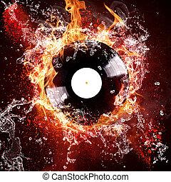 burning vinyl disc - Burning vinyl disc hot hits