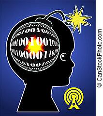 burnout, enfant, numérique