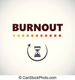 burnout loading with hourglass