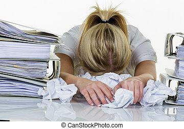 burnout, manželka, úřad