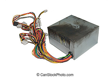 Burnt power supply - Power supply from PC, burnt due to jump...