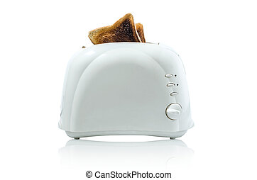 Burnt Toast  in Toaster (With Path)