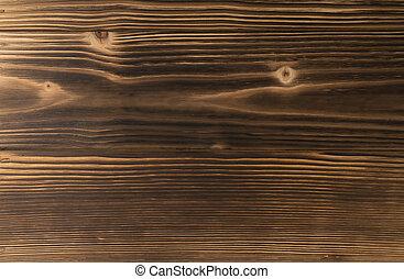 Burnt wood background