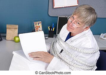 burocracia, doctor