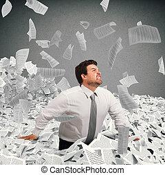 burocracia, enterrado