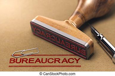 burocracia, formalidade burocrática