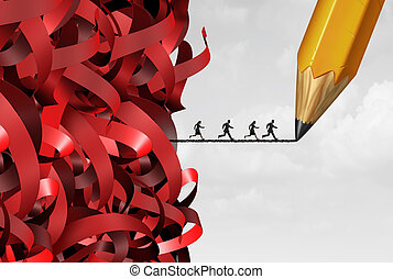 burocracia, gerência, sucesso
