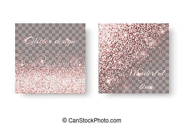 Burst pink background - Glitter sparkle background with...
