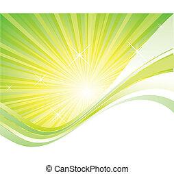 Burst vector background