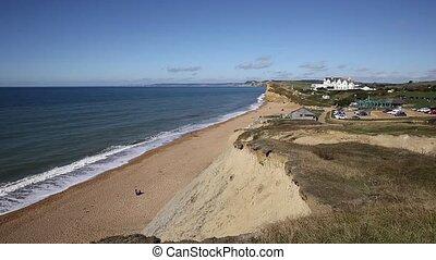 Burton Bradstock Dorset England uk beautiful jurassic coast...