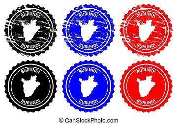 Burundi - rubber stamp