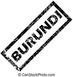 BURUNDI rubber stamp