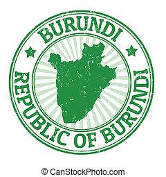 Burundi stamp