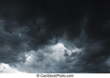burza niebo