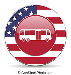 bus, amerikansk ikon