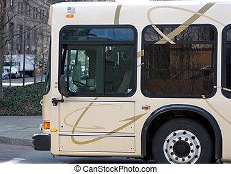 Bus Close Up