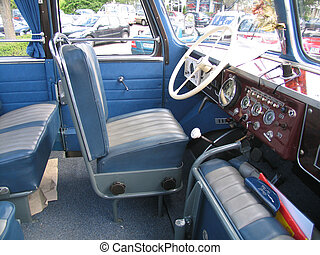 Bus drivers seat