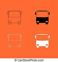 Bus icon .