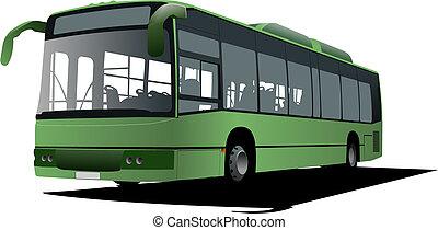 bus, images.