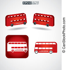 Bus - public transport - Bus icon - public transport concept
