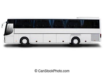 bus, rejsen