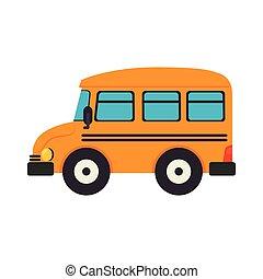 bus school transportation education yellow