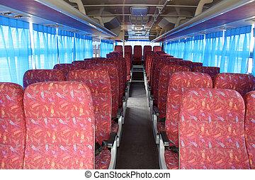 bus, sitze