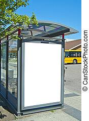bus stop bastad