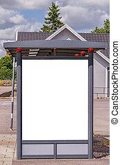 bus stop billesholm