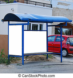 bus stop crete