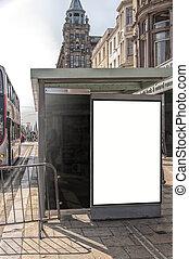Bus Stop Edinburgh