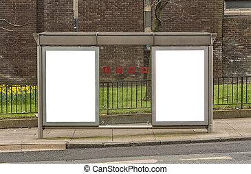 Bus Stop Glasgow