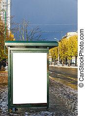 Bus Stop Riga