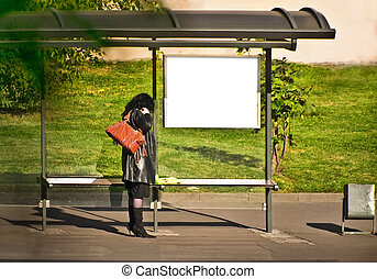 bus stop - the bus-stop